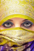 Arabian face — Stock Photo