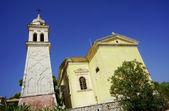 Church tower in Zakynthos island — Zdjęcie stockowe