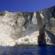 Cliff, Zakynthos island — Stock Photo #7212436