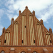 Facade  of gothic church - Stock Photo