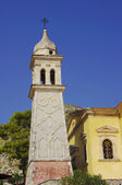 Church tower in Zakynthos island — Stock Photo