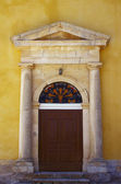 Gateway to church in Zakynthos island — Stock Photo