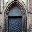 Portal in gothic church - Stock Photo