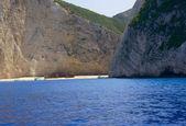 ザキントス島でシップレック ビーチ — ストック写真