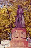 Monument to Boleslaw Chrobry — Stock Photo