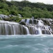 Panorama famous Hraunfossar — Stock Photo #7214012