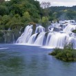 Stock Photo: Krk waterfall,Croatia