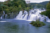 Krk waterfall,Croatia — Stock Photo