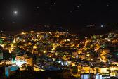 Christmas star above Bethlehem, Palestine, Israel — Stock Photo