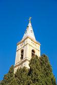 Vela russa - a mais alta torre sineira em jerusalém — Foto Stock