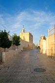 Street of Bethlehem. Palestine, Israel. — Stock Photo
