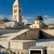 View from one of the roofs in Jerusalem — Stock Photo