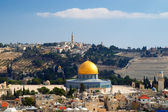 Cúpula de la roca en jerusalén — Foto de Stock
