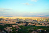 Jericho - aerial view from Mount of Temptation. — Stock Photo