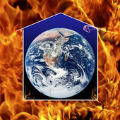 It is not too late to save the earth — Stock Photo