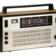 Oldfashioned retro radio - Stock fotografie