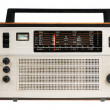 Oldfashioned retro radio - Stock Photo