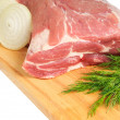 Piece of pork for roasting — Stock Photo