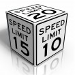 Foto de Stock  : Speed limit
