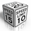 Speed limit — Foto Stock #6764922