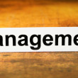 Management — Foto Stock #6833037
