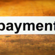 Royalty-Free Stock Photo: Payment