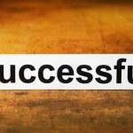Successful — Stock Photo