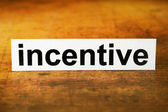 Incentive — Stock Photo