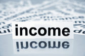 Income — Stock Photo
