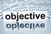 Objective — Stock Photo