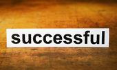 Bem sucedido — Fotografia Stock