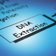 Dna extraction — Stock Photo