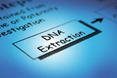 Dna-extractie — Stockfoto