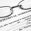 Premerital agreement — Stock Photo