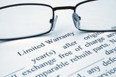 Limited warranty — Stock Photo