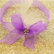 Royalty-Free Stock Photo: Purple ribbon