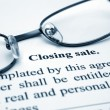 Stock Photo: Closing sale
