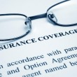 Insurance coverage - Foto Stock