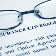 Insurance coverage - Zdjcie stockowe