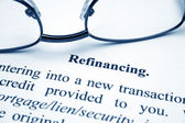 Refinancing — Stock Photo