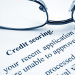 Credit scoring — Stock Photo #7164322