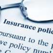 Stock Photo: Insurance policy