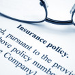 Insurance policy — Stock fotografie