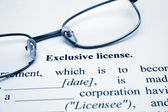 Exclusive license — Stock Photo
