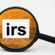 IRS concept — Stock Photo