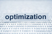 Optimization — Foto Stock