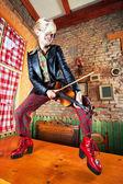 Geigenspieler — Stockfoto