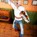 Violinist — Stock Photo #7196717
