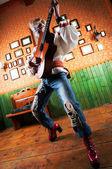 Chitarrista — Foto Stock