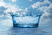 Water splash — Stock Photo